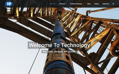 Screenshot of Home Page hpogc.com - HPOGC - captured Nov. 4, 2018