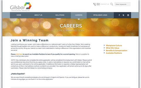 - Careers