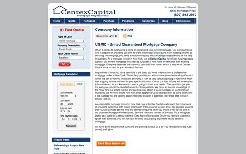 Screenshot of About Page centexcapital.com - Company Information | Centex Capital Corp - captured Oct. 17, 2018