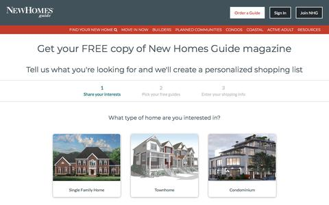 Order A Free Subscription To The New Homes Guide Magazine