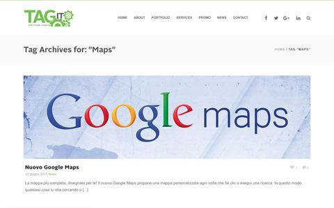 Screenshot of Maps & Directions Page tagitadv.it - Maps | Agenzia di Comunicazione Napoli - TAGIT adv - captured Dec. 20, 2018