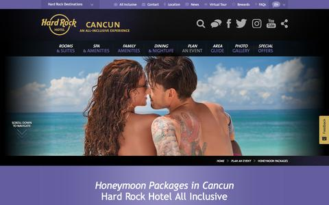 Honeymoon Packages in Cancun | Hard Rock Hotel Cancun