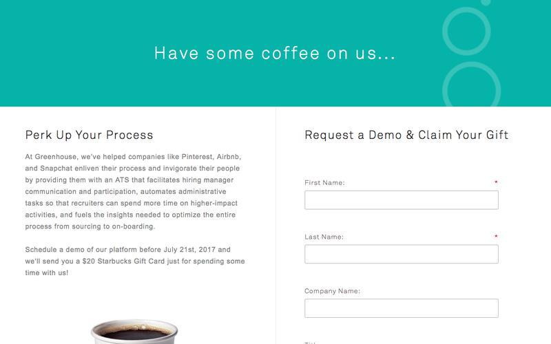 Request a Demo | Greenhouse