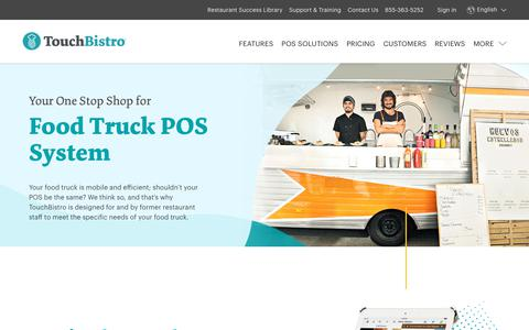 Food Truck Point of Sale, iPad POS System - TouchBistro