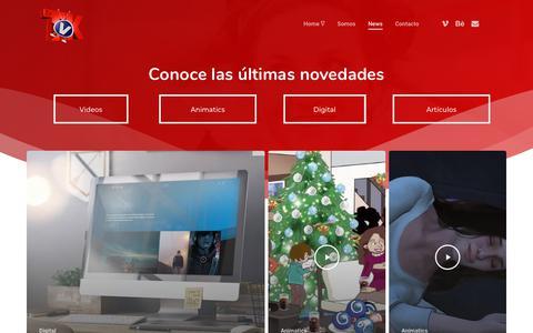 Screenshot of Press Page tvkinesis.com - News – Tvkinesis - captured July 6, 2018