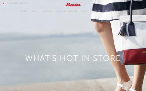 Screenshot of Products Page bata.com.sg - Bata Singapore -  Quality Shoes and Bags for Women, Men and Kids Since 1894 - captured Nov. 22, 2016