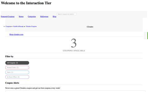 Interaction Tier