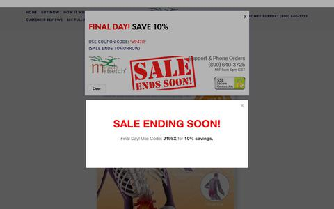 Screenshot of Menu Page miraclestretch.com - Buy Now — Piri-Stretcher® by Miracle Stretch® for Sciatica and Piriformis Syndrome. - captured Nov. 19, 2018