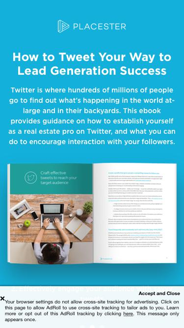 How to Tweet Your Way to Lead Generation Success | Placester