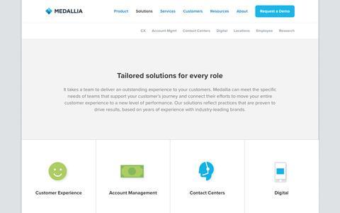 Solutions - Medallia