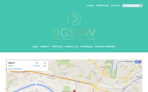 Screenshot of Contact Page jigsawesl.com - Contact | Jigsawesl - captured Sept. 30, 2014