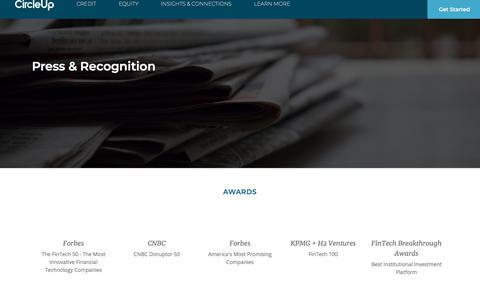 CircleUp   Press & Recognition