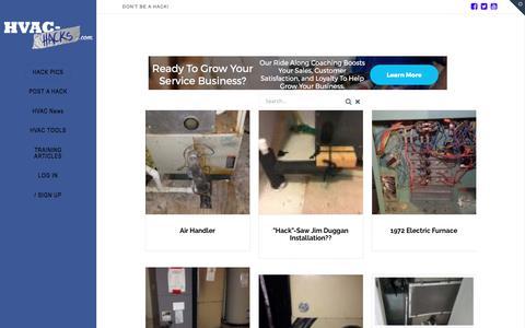 HACK PICS | HVAC Hacks