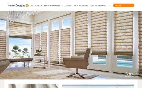 Window Treatments | Blinds, Shades & Shutters | Hunter Douglas