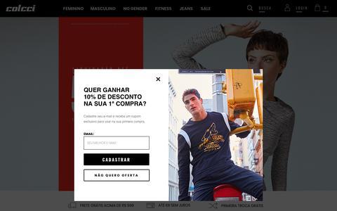Screenshot of Home Page colcci.com.br - Loja Oficial da Colcci - captured July 17, 2019
