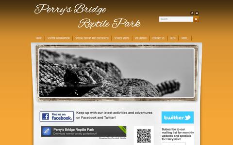 Screenshot of Maps & Directions Page perrysbridgereptilepark.com - Directions to Hazyview's number one family attraction! - Perry's Bridge                   Reptile Park - captured Sept. 26, 2014