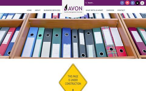 Screenshot of Case Studies Page avonfms.com - Case Studies | Avon - captured Feb. 5, 2016