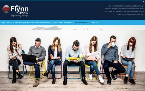Screenshot of Jobs Page theflynngroup.com.au - Job Opportunities - The Flynn GroupThe Flynn Group - - captured Nov. 13, 2018