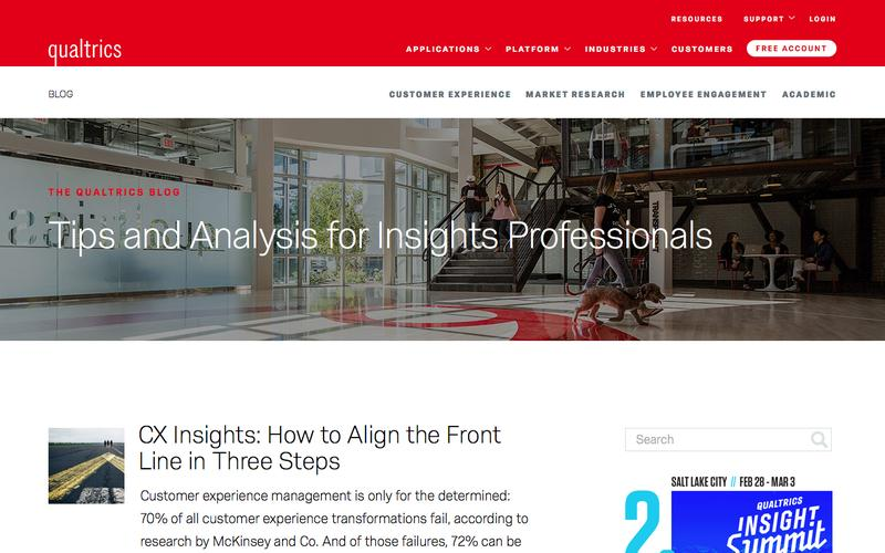 Screenshot Blog | Qualtrics