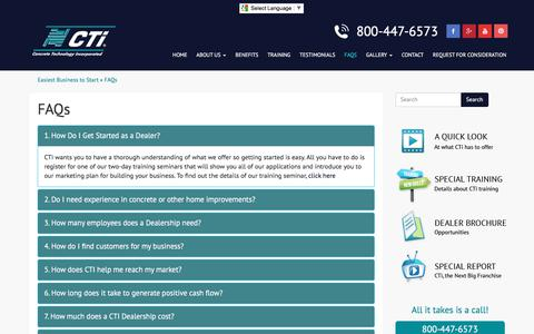 Screenshot of FAQ Page flycti.com - Easiest Business to Start Up - Start Home Based Business - captured Aug. 14, 2017