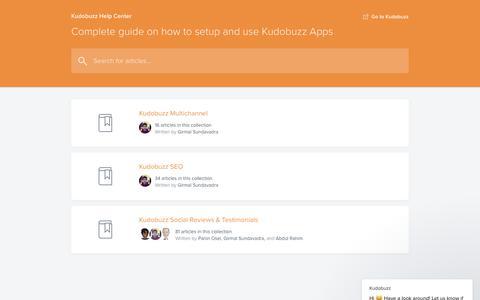 Screenshot of Contact Page kudobuzz.com - Kudobuzz says… - captured Oct. 14, 2019