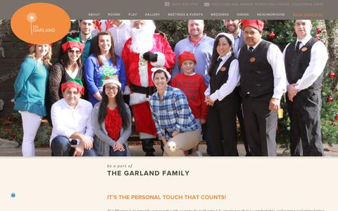 Screenshot of Jobs Page thegarland.com - Careers at The Garland | North Hollywood - captured Oct. 13, 2017