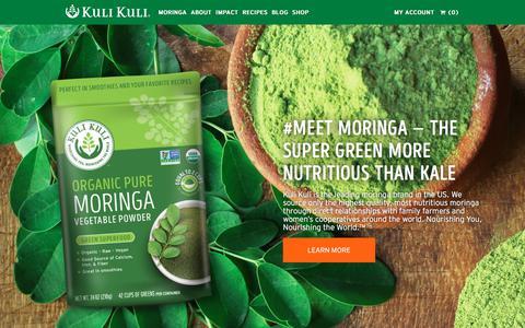 Kuli Kuli Foods - A Moringa Superfood Company - Kuli Kuli Foods