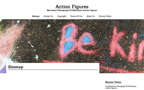 Screenshot of Site Map Page apfatato.com - Sitemap | Action Figures - captured Oct. 18, 2018