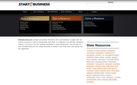 Screenshot of About Page startupbusiness.com - registered agent services by Registered Agents Inc. - captured Oct. 7, 2014