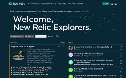 New Relic Explorer's Hub