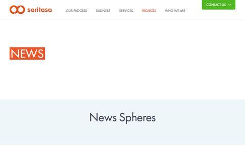Screenshot of Press Page saritasa.com - Expert Software, Web & Mobile Development News - captured Oct. 27, 2014