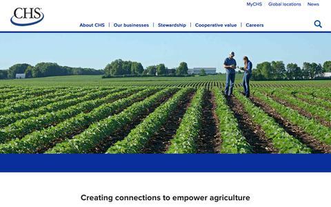 Screenshot of Home Page chsinc.com - Home - captured Aug. 7, 2019