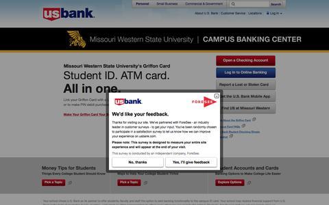 Missouri Western State University | CAMPUS BANKING CENTER