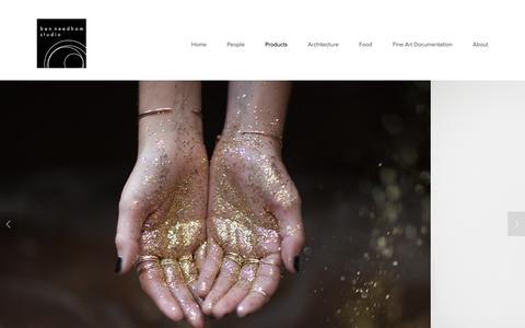 Screenshot of Products Page benneedhamstudio.com - Products Ń Ben Needham Studio - captured Dec. 31, 2015