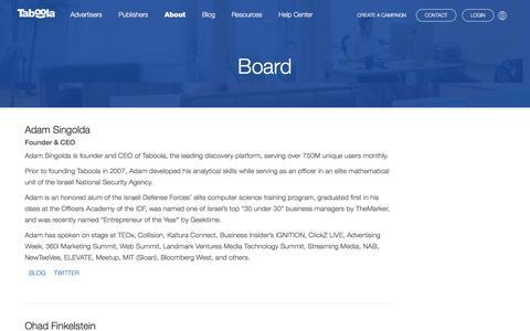 Board | Taboola.com