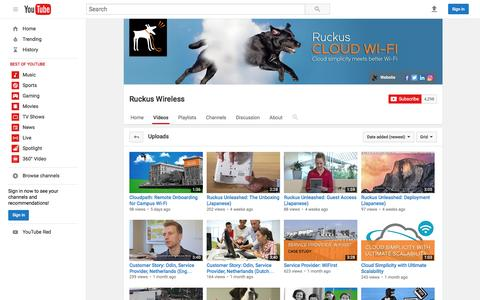 Ruckus Wireless  - YouTube