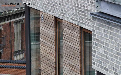 Screenshot of Home Page luplau-poulsen.dk - Landingpage - Luplau & Poulsen Arkitekter - captured Sept. 17, 2015