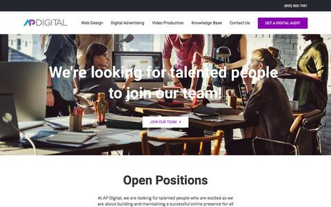 Careers - AP Digital