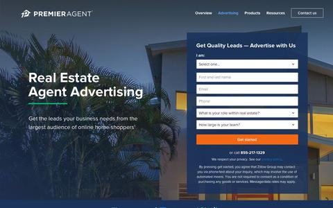 Real Estate Advertising | Premier Agent - Zillow & Trulia