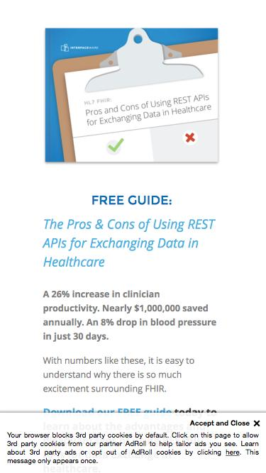 Pros & Conts of Using REST APIs in Healthcare