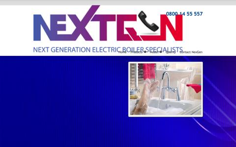 Screenshot of Privacy Page nexgenerationboilers.co.uk - Privacy Policy - NexGeneration Boiler SpecilaistsNexGeneration Boiler Specilaists - captured Oct. 26, 2014