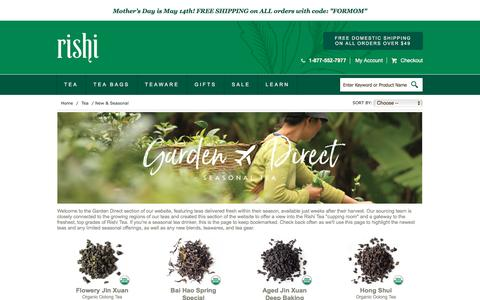 Buy Fresh Seasonal Organic Teas |  Rishi-Tea.com