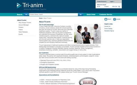 Screenshot of About Page tri-anim.com - About Tri-anim | Tri-anim - captured Dec. 23, 2017