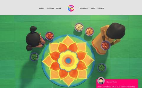 Screenshot of Home Page cravefx.com - CraveFX – 2D/3D Animation, Motion Graphics & VFX Studio Singapore - captured May 22, 2017