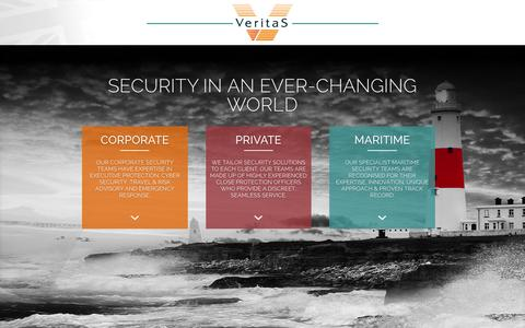 Screenshot of Home Page veritas-international.com - Veritas International | Just another WordPress site - captured Jan. 10, 2016