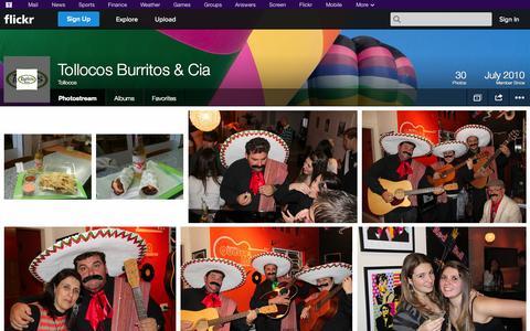 Screenshot of Flickr Page flickr.com - Flickr: Tollocos' Photostream - captured Oct. 26, 2014
