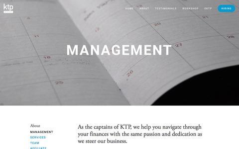 Screenshot of Team Page ktp.com.my - Management — KTP & Company PLT - captured Oct. 16, 2017