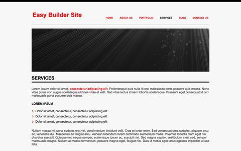 Screenshot of Services Page homecookhero.com.au - Services - captured July 15, 2016