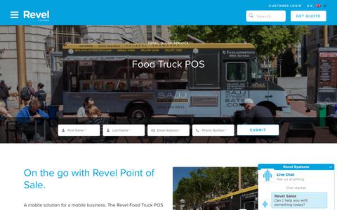 Food Truck POS System   Revel Systems iPad Point of Sale