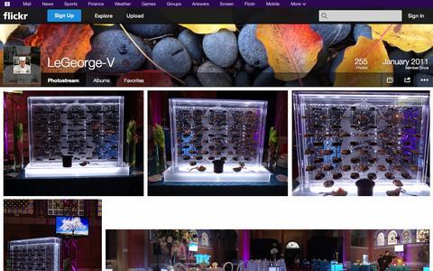 Screenshot of Flickr Page flickr.com - Flickr: LeGeorge-V's Photostream - captured Oct. 22, 2014